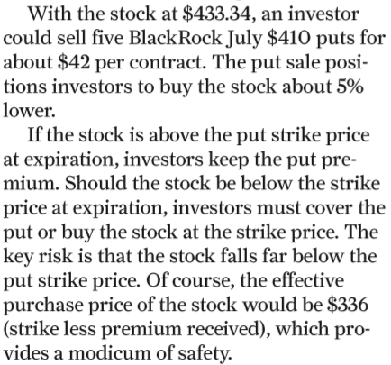 Striking Price Snippet